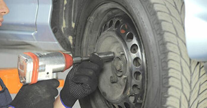 Radlager beim HONDA JAZZ 1.5 EX 2008 selber erneuern - DIY-Manual