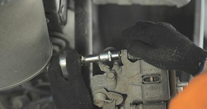 Schritt-für-Schritt-Tutorial zum eigenständigen Austausch von Honda Jazz gd 2006 1.4 Radlager
