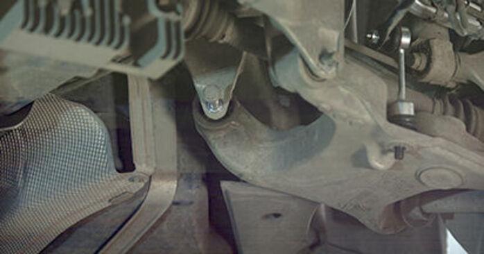 Så tar du bort BMW 5 SERIES 525d 3.0 2005 Hjullager – instruktioner som är enkla att följa online