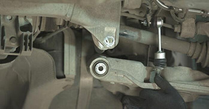 Byt 5 Sedan (E60) 525d 3.0 2002 Hjullager – gör det själv med verkstadsmanual