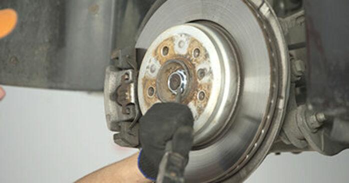 BMW 5 SERIES 2008 Hjullager utbytesmanual att följa steg för steg