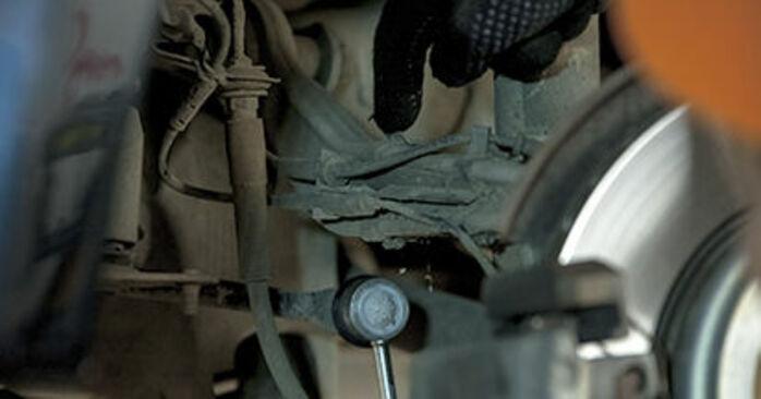 Querlenker BMW E60 520d 2.0 2003 wechseln: Kostenlose Reparaturhandbücher