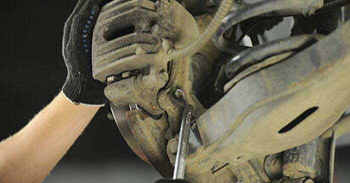 SANTA FÉ II (CM) 2.2 CRDi GLS 2008 2.2 CRDi GLS 4x4 Bremsscheiben - Handbuch zum Wechsel und der Reparatur eigenständig