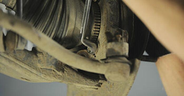 Steg-för-steg-rekommendationer för att byta Hyundai Santa Fe cm 2010 2.2 CRDi GLS Hjullager på egen hand