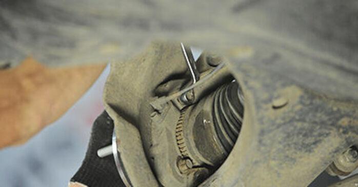Wechseln Radlager am HYUNDAI SANTA FÉ II (CM) 2.7 V6 GLS 4x4 2008 selber