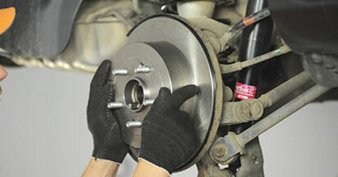 Byt Hjullager på HYUNDAI SANTA FÉ II (CM) 2.7 V6 GLS 4x4 2008 själv