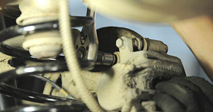 HYUNDAI SANTA FE 2012 Hjullager utbytesmanual att följa steg för steg