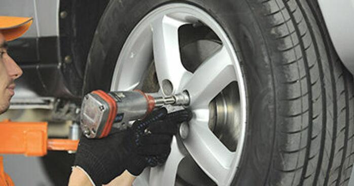 Hoe Hyundai Santa Fe cm 2005 Stuurkogel vervangen – kosteloze pdf-handleidingen en tutorials