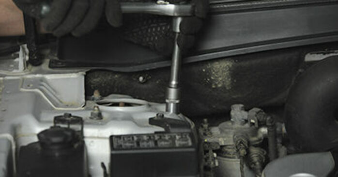 Domlager Ihres Hyundai Santa Fe cm 2.2 CRDi GLS 4x4 2005 selbst Wechsel - Gratis Tutorial