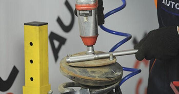 Tausch Tutorial Domlager am HYUNDAI SANTA FÉ II (CM) 2009 wechselt - Tipps und Tricks