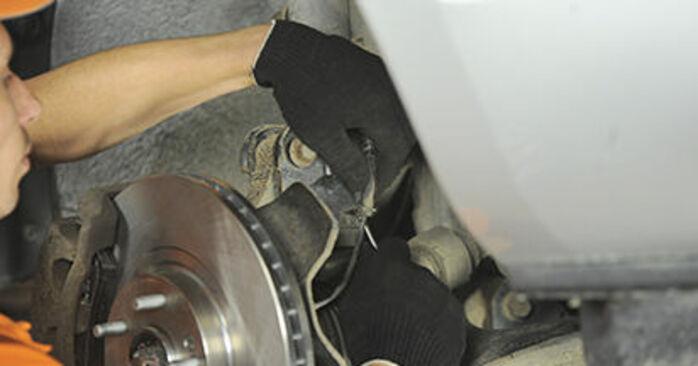 Austauschen Anleitung Domlager am Hyundai Santa Fe cm 2007 2.2 CRDi 4x4 selbst