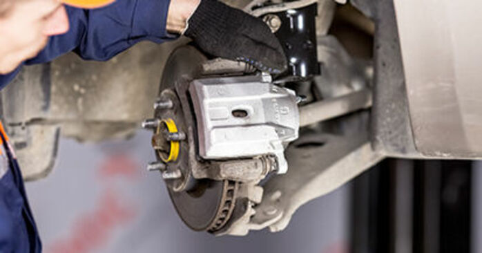 Changing of Brake Calipers on Toyota Prius 2 2004 won't be an issue if you follow this illustrated step-by-step guide