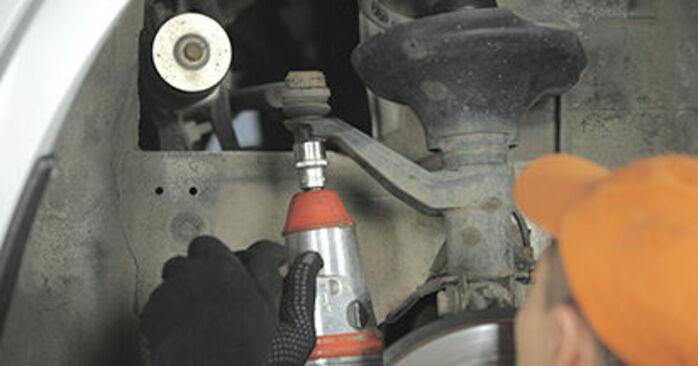 Wie Spurstangenkopf Honda CR-V II 2.0 (RD4) 2001 tauschen - Kostenlose PDF- und Videoanleitungen
