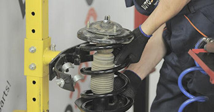 Schritt-für-Schritt-Anleitung zum selbstständigen Wechsel von Honda CR-V II 2002 2.4 Domlager