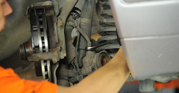 Tausch Tutorial Bremssattel am MERCEDES-BENZ E-Klasse Limousine (W210) 1998 wechselt - Tipps und Tricks