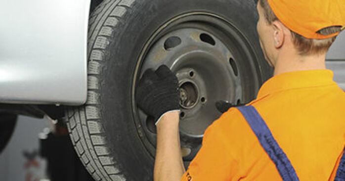 How to change Brake Discs on PEUGEOT 406 Break (8E/F) 1999 - tips and tricks