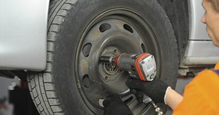Schritt-für-Schritt-Anleitung zum selbstständigen Wechsel von Peugeot 406 Kombi 2000 2.2 Bremsscheiben