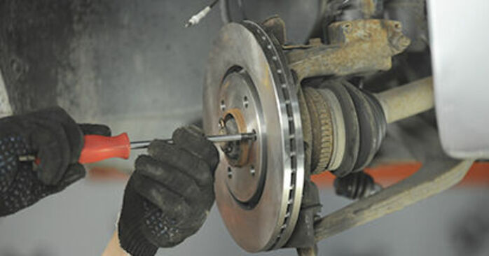 Replacing Wheel Bearing on Peugeot 406 Estate 1997 2.0 HDI 110 by yourself