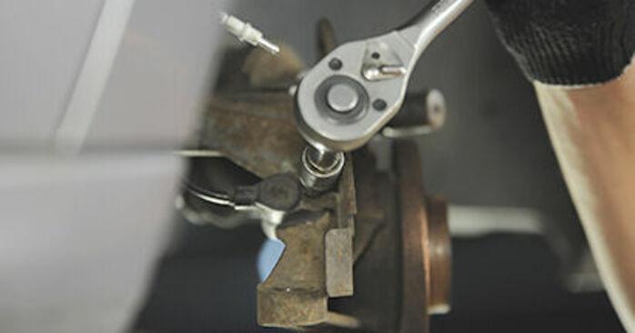 Changer Roulement De Roues sur PEUGEOT 406 Break (8E/F) 2.0 HDI 90 1999 par vous-même