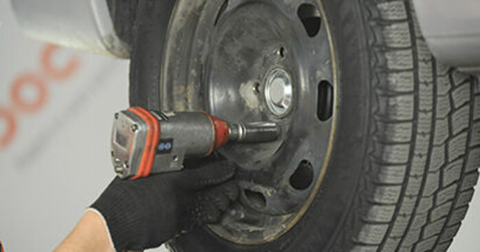 How to change Strut Mount on Peugeot 406 Estate 1996 - free PDF and video manuals