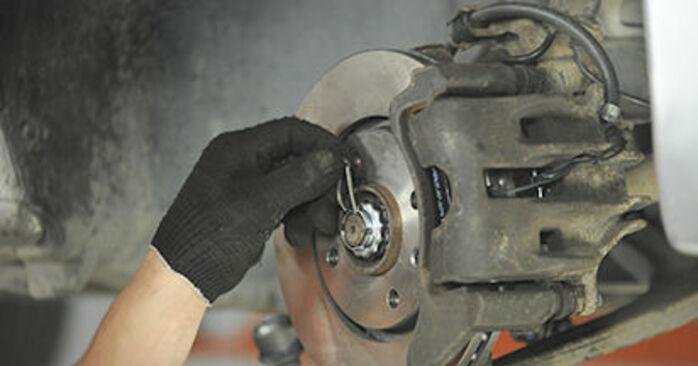 Domlager Peugeot 406 Kombi 1.8 16V 1998 wechseln: Kostenlose Reparaturhandbücher