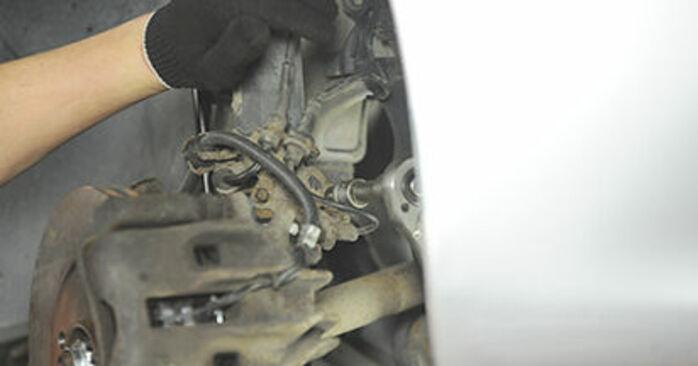 Cambie Copelas Del Amortiguador en un PEUGEOT 406 Break (8E/F) 2.0 HDI 90 1999 usted mismo