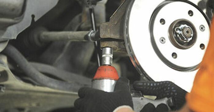 Cómo reemplazar Copelas Del Amortiguador en un PEUGEOT 406 Break (8E/F) 2001: descargue manuales en PDF e instrucciones en video