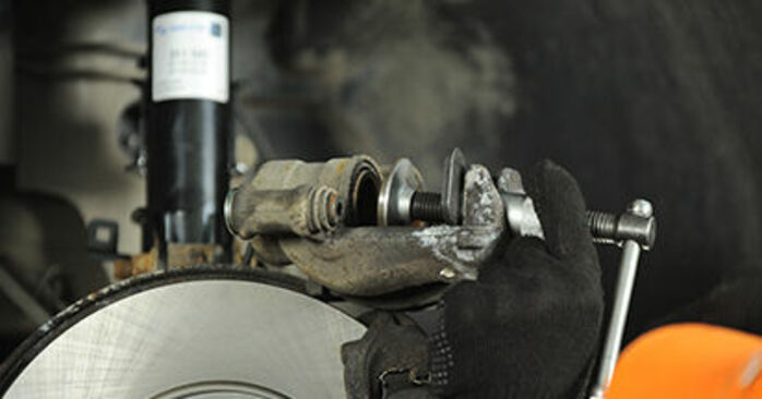 Changing of Brake Pads on Mercedes Viano W639 2011 won't be an issue if you follow this illustrated step-by-step guide