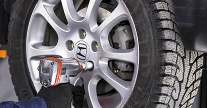 Wie Spurstangenkopf Honda CR-V III 2.2 i-CTDi 4WD (RE6) 2006 tauschen - Kostenlose PDF- und Videoanleitungen