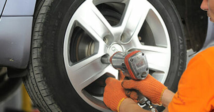 Schritt-für-Schritt-Anleitung zum selbstständigen Wechsel von Audi A4 b7 2007 2.0 TFSI quattro Bremsbeläge