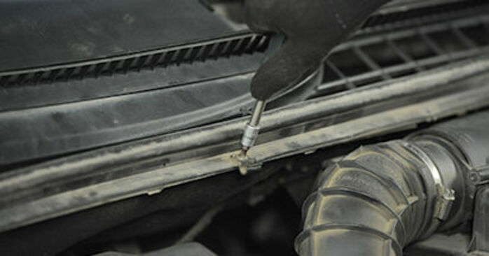 Domlager Mercedes Viano W639 CDI 2.2 (639.811, 639.813, 639.815) 2005 wechseln: Kostenlose Reparaturhandbücher