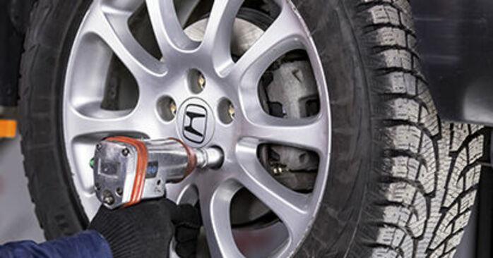 Wie Traggelenk Honda CR-V III 2.2 i-CTDi 4WD (RE6) 2006 tauschen - Kostenlose PDF- und Videoanleitungen