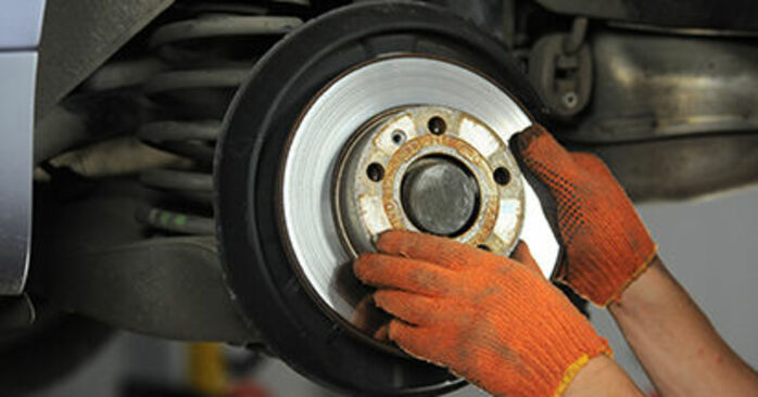 Changing of Brake Discs on Audi A4 b7 2007 won't be an issue if you follow this illustrated step-by-step guide