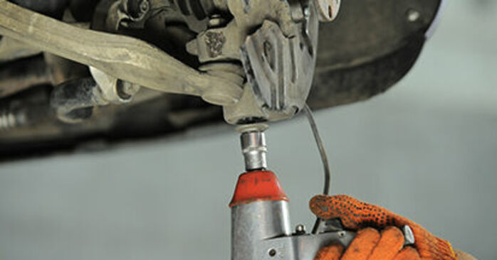 Changing of Wheel Bearing on Audi A4 b7 2007 won't be an issue if you follow this illustrated step-by-step guide
