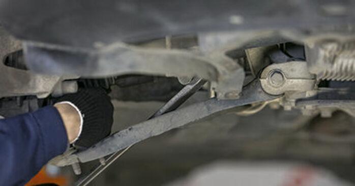 Wechseln Querlenker am SKODA Octavia II Combi (1Z5) 1.9 TDI 4x4 2007 selber