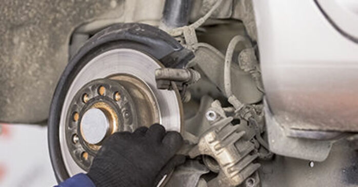 Changing of Wheel Bearing on Octavia 1z5 2012 won't be an issue if you follow this illustrated step-by-step guide