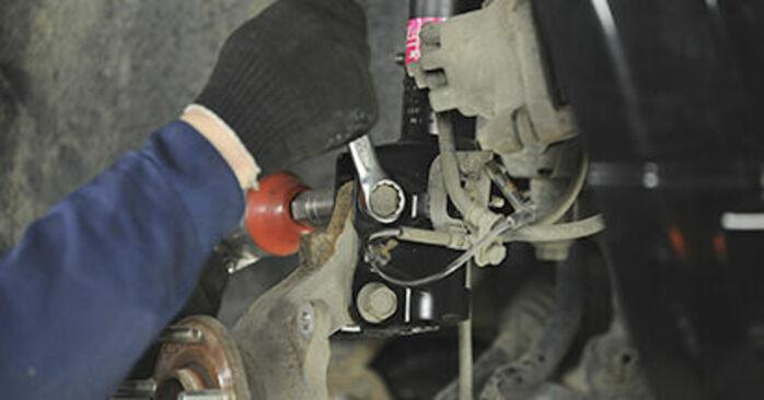 Wie man Radlager am Dodge Caliber SRT4 2006 ersetzt - Kostenfreie PDF- und Videotipps