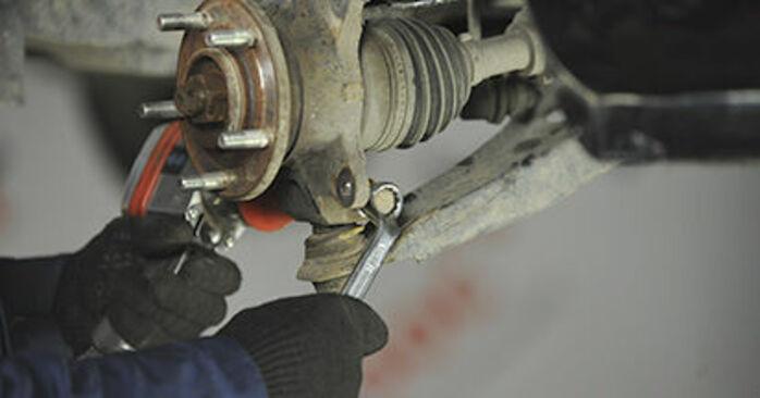 Dodge Caliber SRT4 1.8 2008 Radlager wechseln: Kostenfreie Reparaturwegleitungen