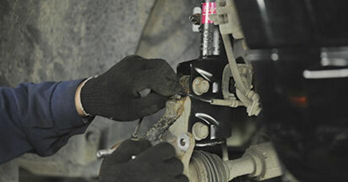 Wie man Radlager am DODGE CALIBER 2011 wechselt – Laden Sie sich PDF-Wegleitungen und Videoanweisungen herunter