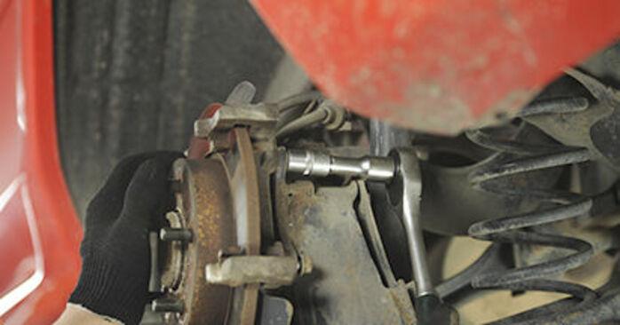 3 (BK) 1.4 2007 1.6 DI Turbo Bremsscheiben - Handbuch zum Wechsel und der Reparatur eigenständig
