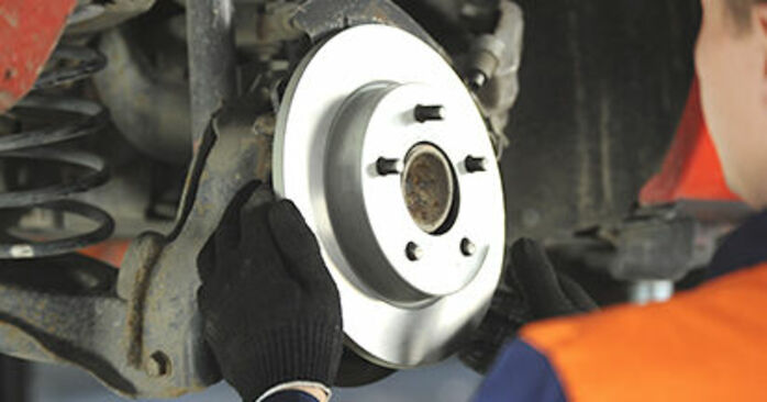 3 (BK) 1.4 2007 Wheel Bearing DIY replacement workshop manual