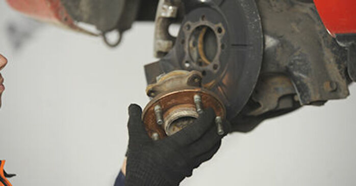 Mazda 3 bk 1.6 DI Turbo 2005 Wheel Bearing replacement: free workshop manuals