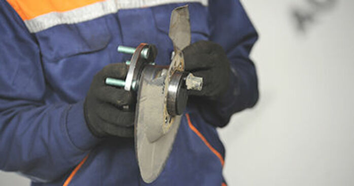 Changing of Wheel Bearing on Mazda 3 bk 2004 won't be an issue if you follow this illustrated step-by-step guide