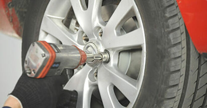 How to change Wheel Bearing on Mazda 3 bk 2003 - free PDF and video manuals