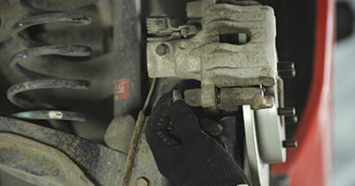 How to remove MAZDA 3 1.4 2007 Wheel Bearing - online easy-to-follow instructions