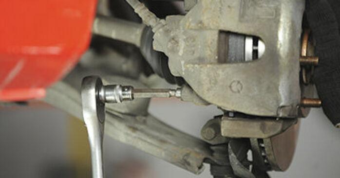 Wymiana Klocki Hamulcowe Mazda 3 bk 2003 - darmowe instrukcje PDF i wideo