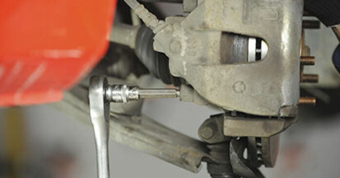 Jak wymienić Klocki Hamulcowe w MAZDA 3 (BK) 2008: pobierz instrukcje PDF i instrukcje wideo