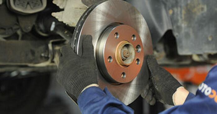 VW TRANSPORTER 2010 Bremsscheiben Schrittweise Anleitungen zum Wechsel von Autoteilen