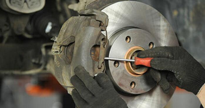 Cómo quitar Pastillas De Freno en un VW TRANSPORTER 2.0 TDI 4motion 2007 - instrucciones online fáciles de seguir