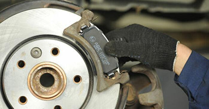 Bremsbeläge beim VW TRANSPORTER 2.5 TDI 4motion 2010 selber erneuern - DIY-Manual